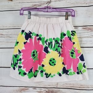 Lilly Pulitzer | Floral Mini Skirt DoodleBug Daisy